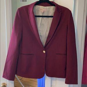 Philosophy maroon blazer